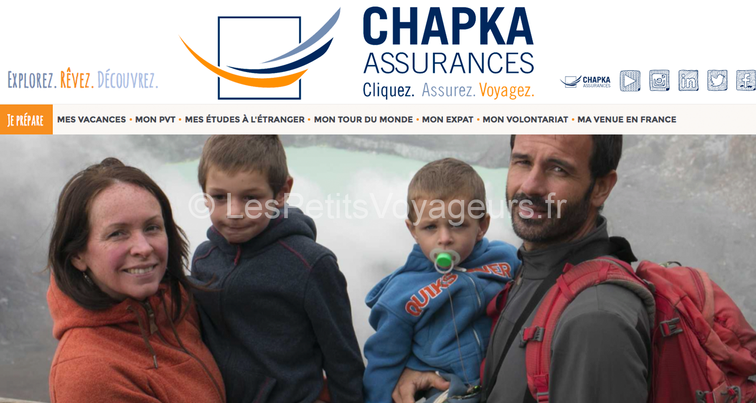 Interview Chapka Assurances : Tour du monde en famille